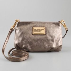 {Marc by Marc Jacobs} Percy Q Crossbody Metallic